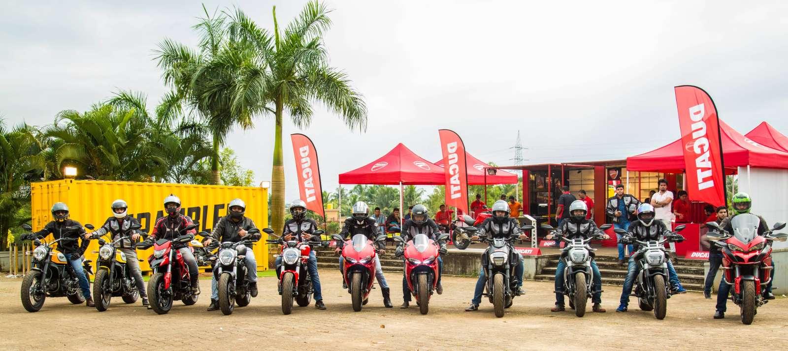 Ducati Demo Rides